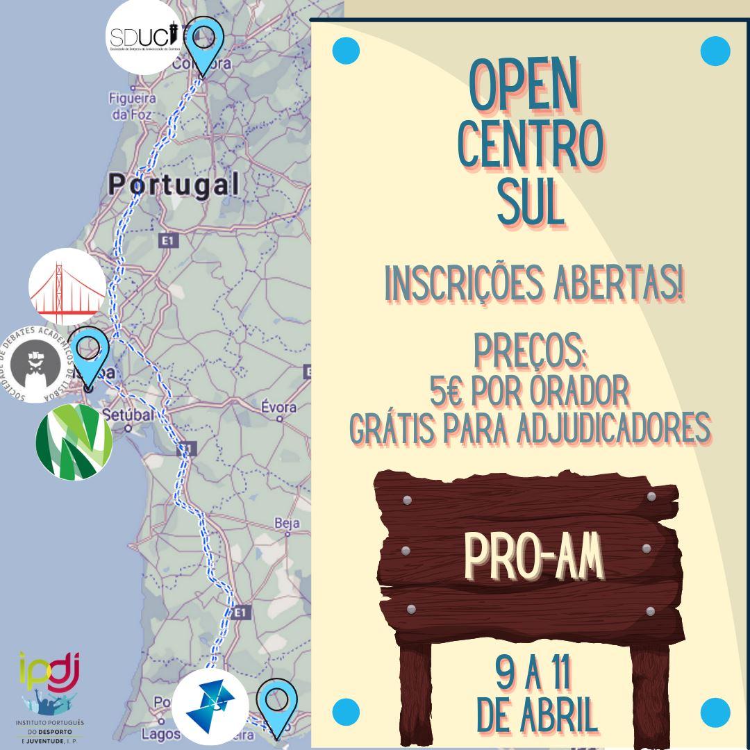 Open Centro Sul 2021 Inscrições