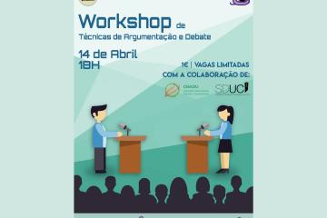 Workshop de Técnicas de Argumentação e Debate: NEF/AAC & CNADU